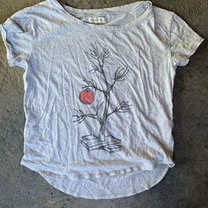 Charlie Brown Inspired Abercrombie and Fitch Shirt